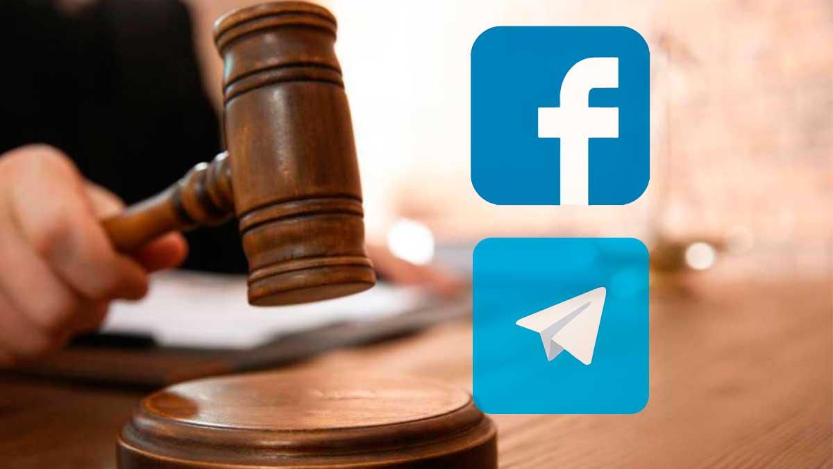 facebook telegram суд
