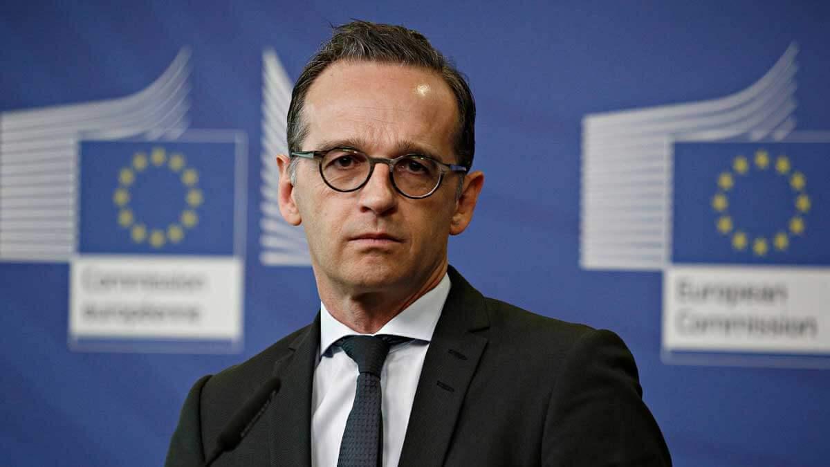 глава МИД ФРГ Хайко Маас смотрит Евросоюз
