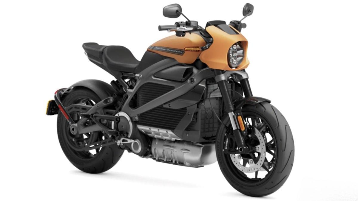 Электробайк Harley Davidson LiveWire первого поколения