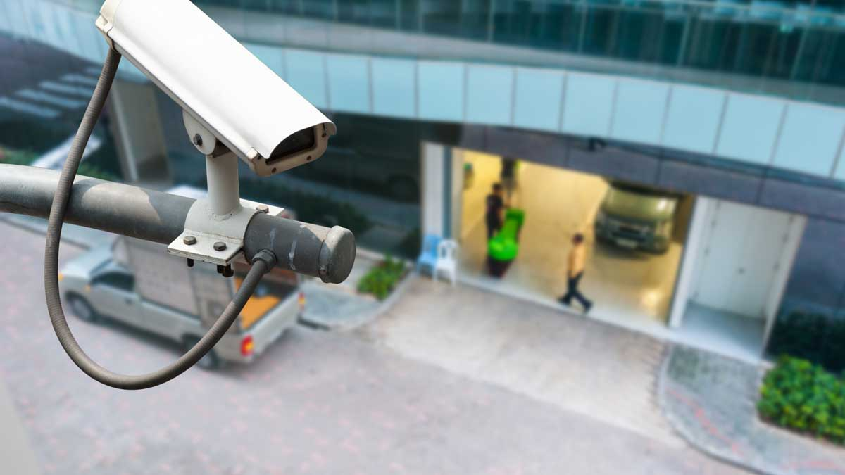 камера наблюдения люди машина