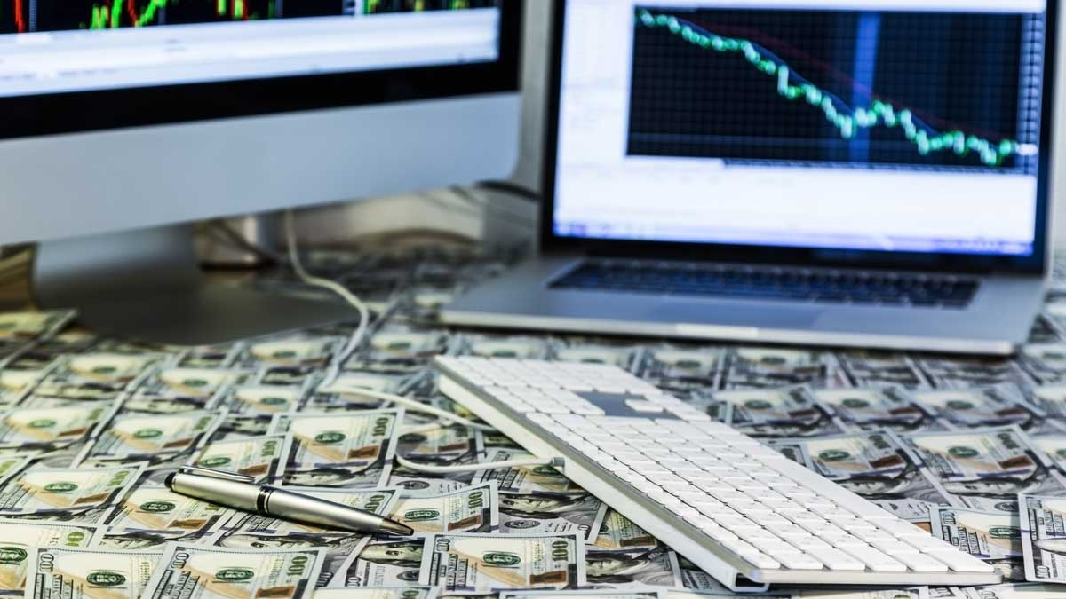 клавиатура деньги