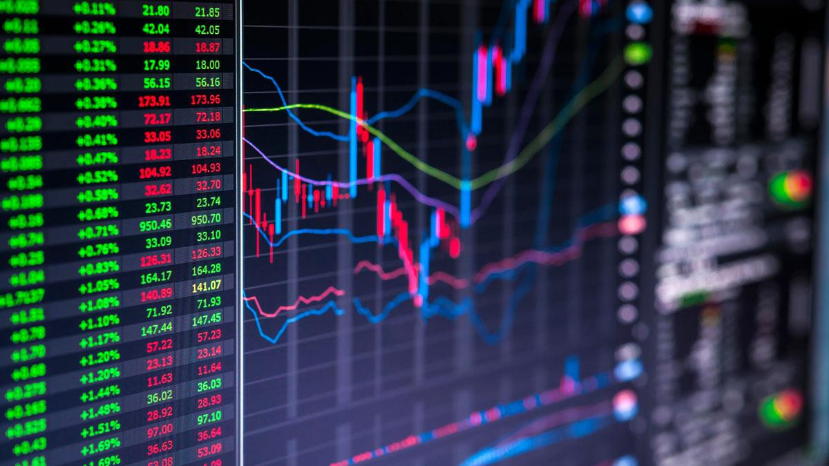 курсы акции графики биржа фондовый рынок цифры