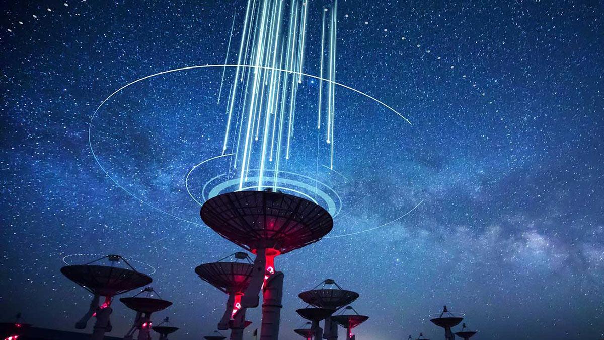 радиосигналы испускаемые в космос
