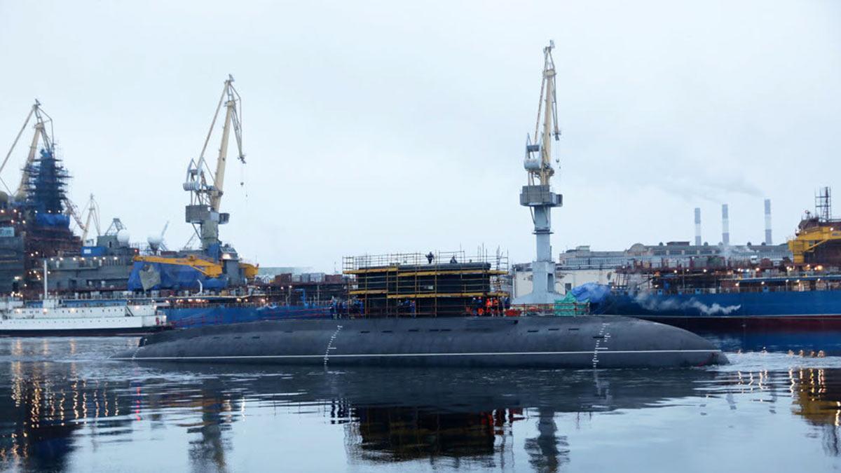 """дизель-электрическая подводная лодка Б-602 """"Магадан"""""""