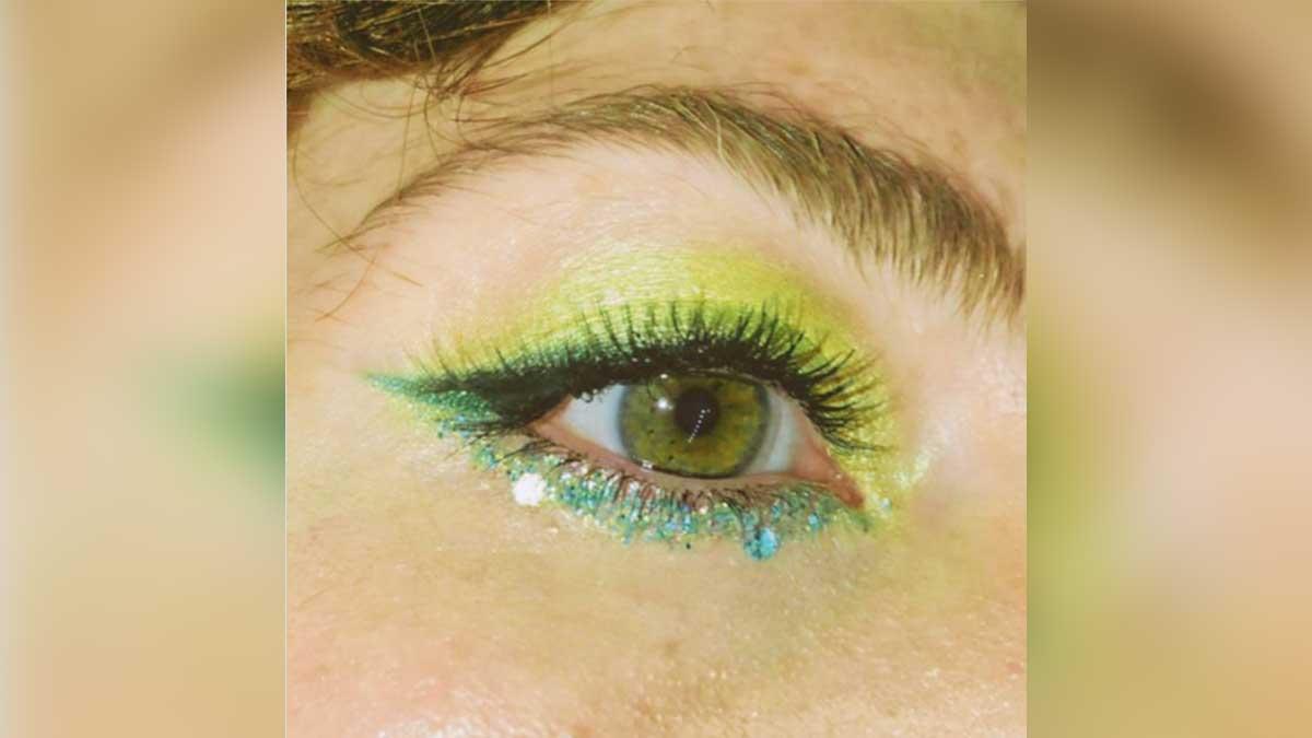 макияж яркий глаз