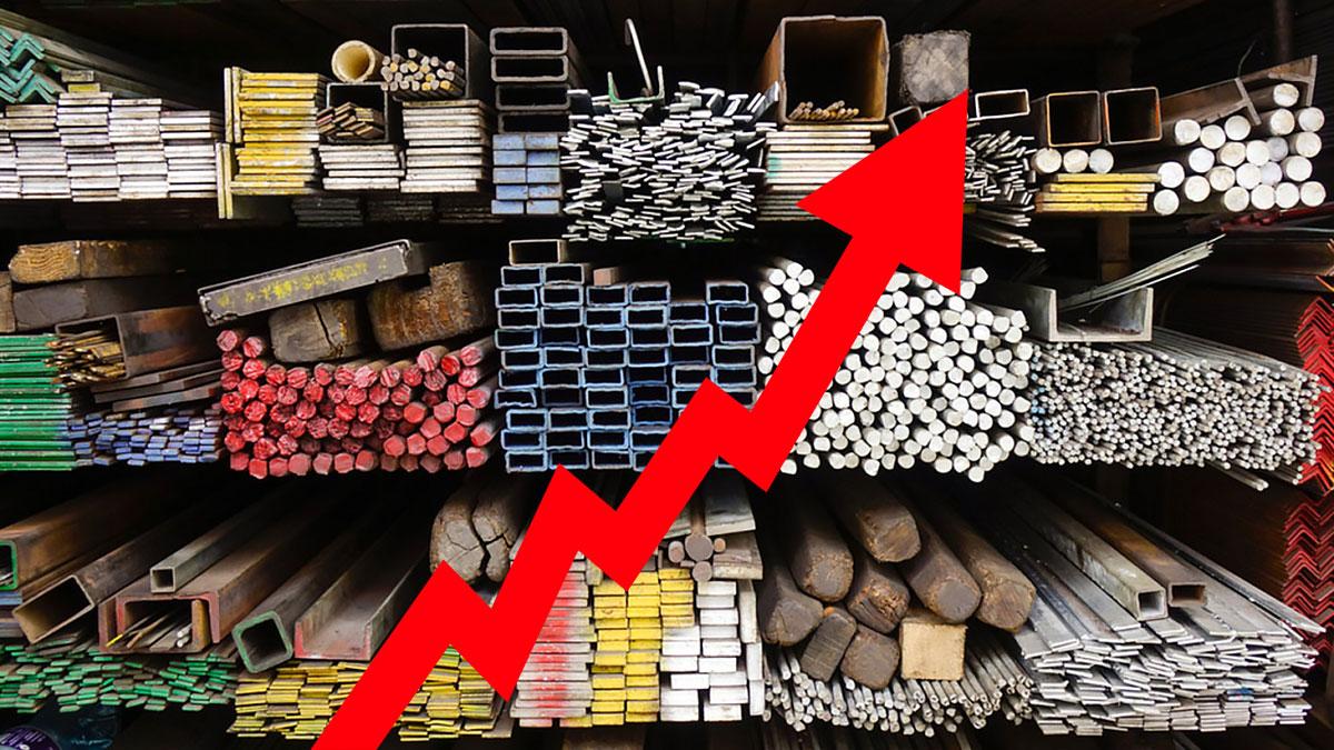 увеличение цен на металл