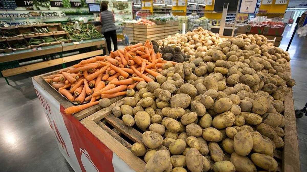 морковь картофель магазин продукты