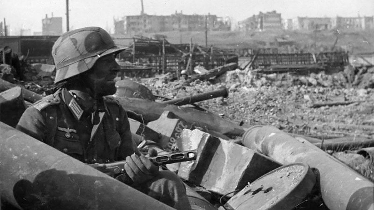 немецкий солдат сталинградская битва
