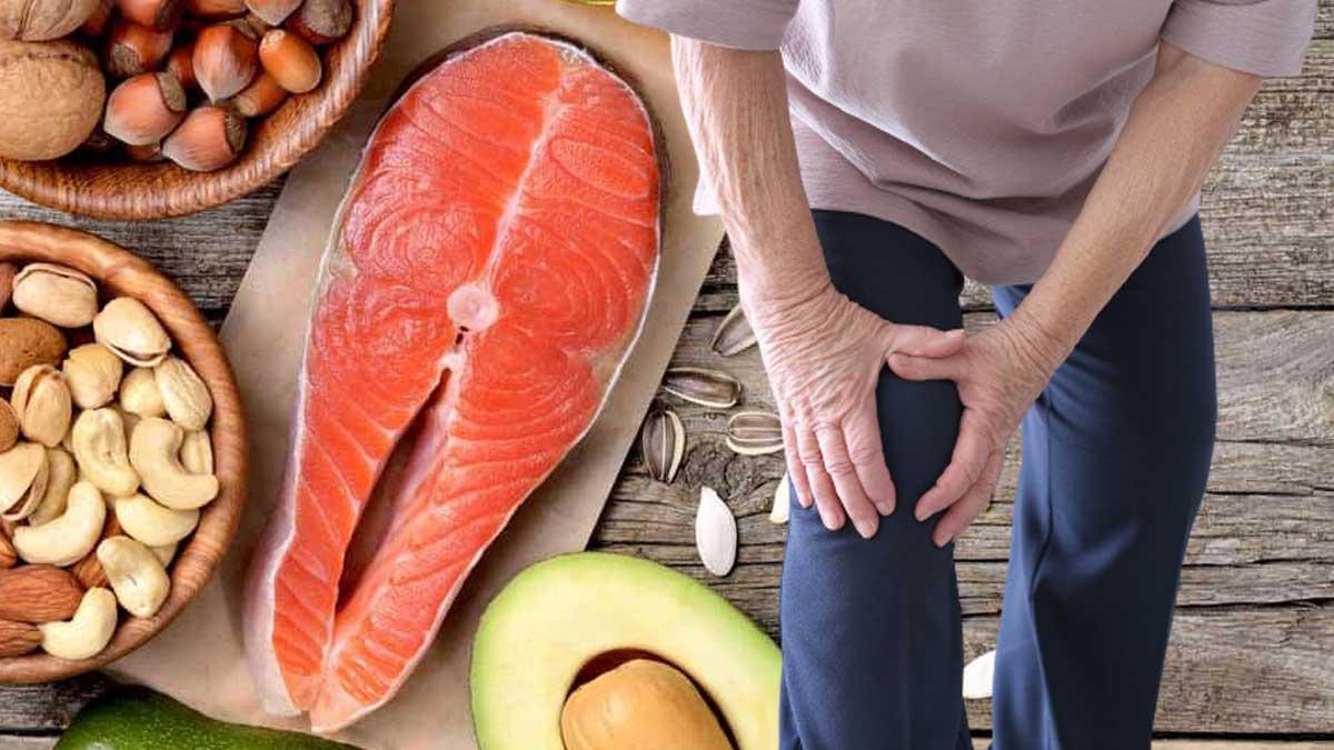 орехи, фрукты, рыба и артрит