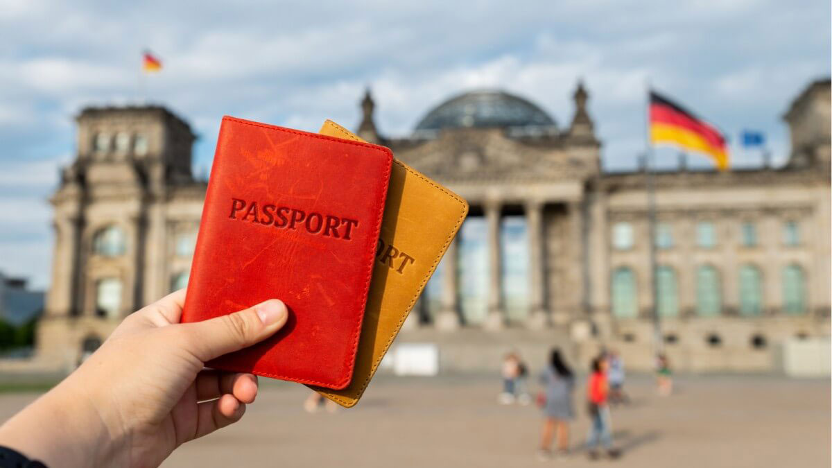 паспорта германия берлин