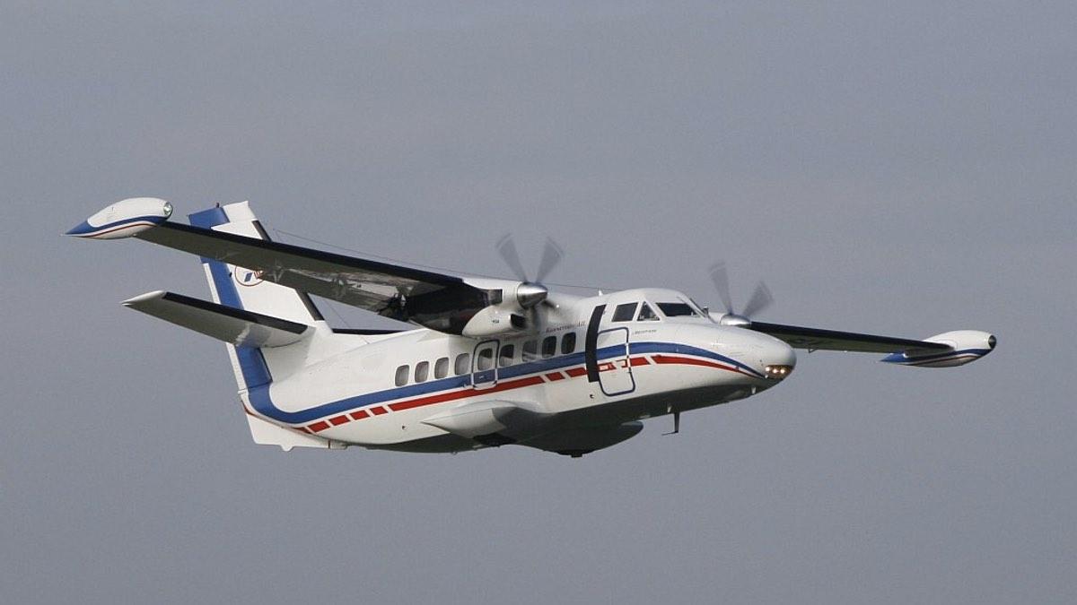 Ближнемагистральный пассажирский самолёт Л-410