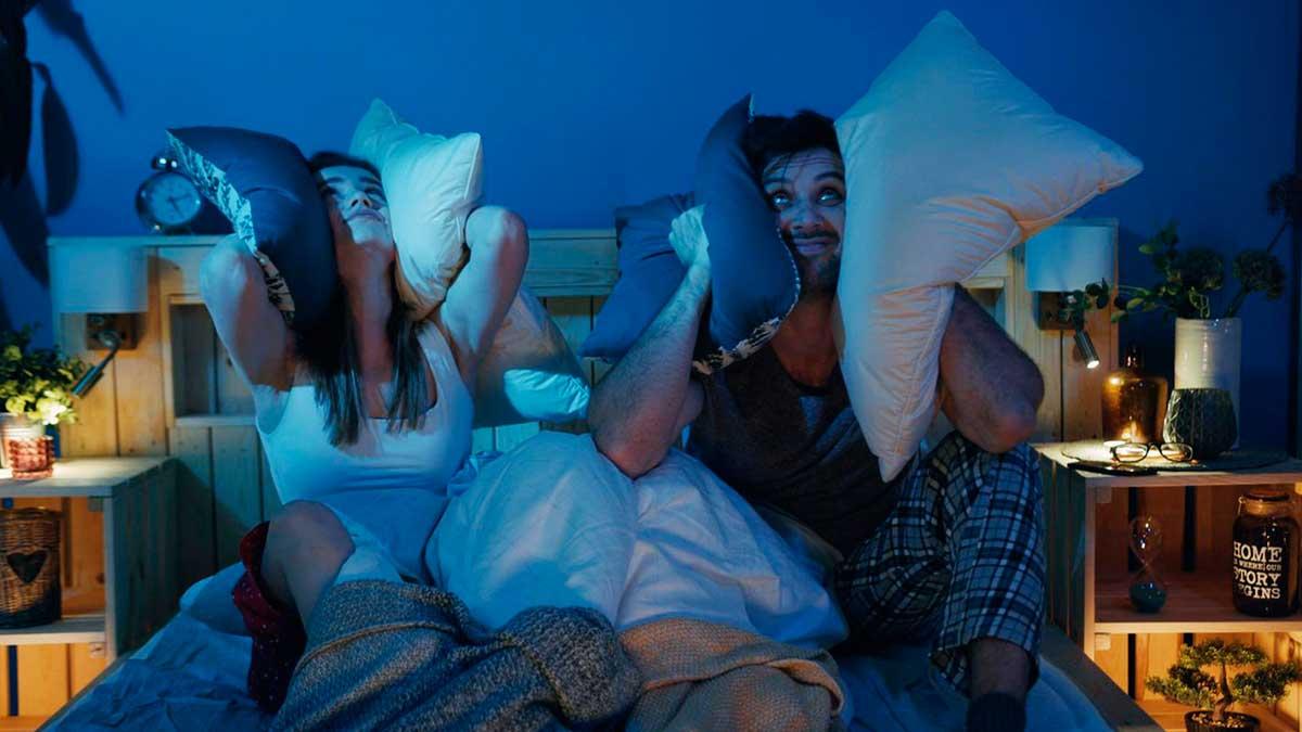 плохой сон шум соседи кровать