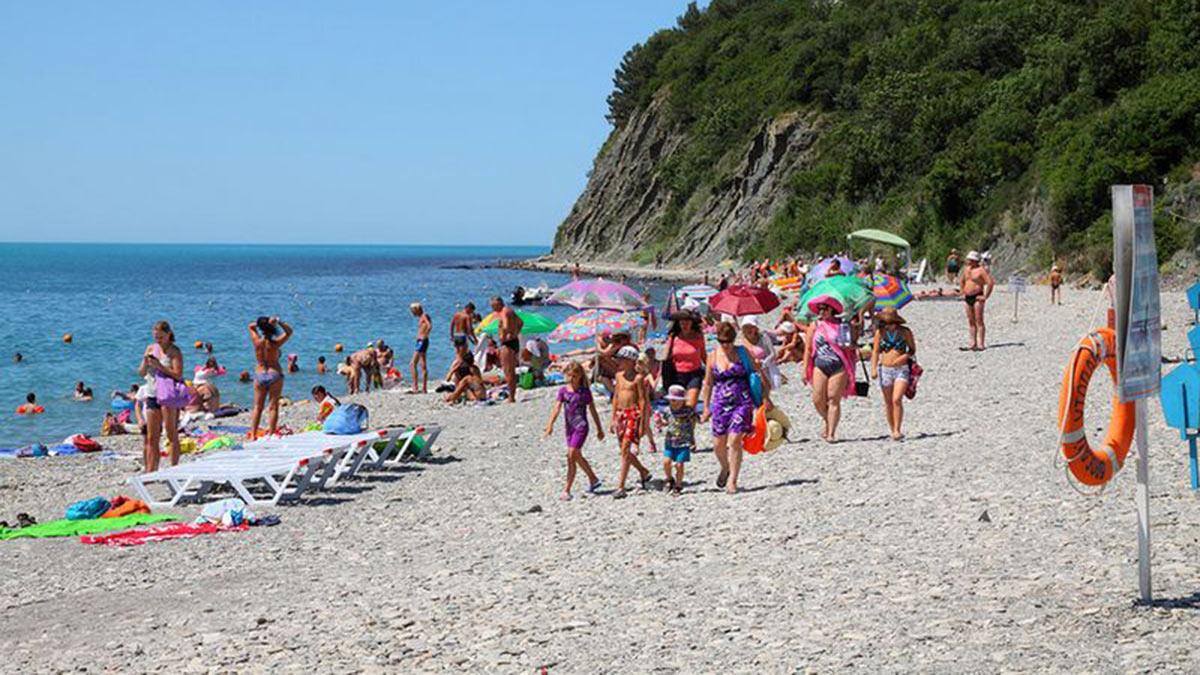 пляжи кубани краснодарский край море отдых