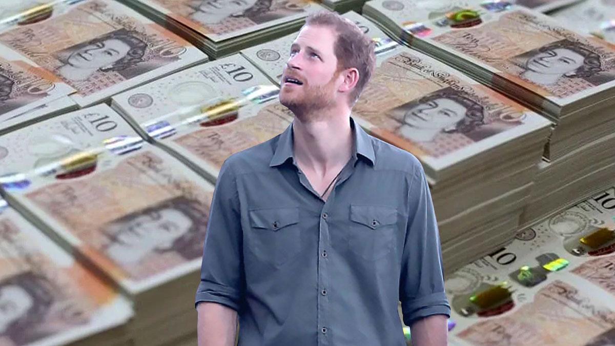 принц гарри и английские фунты