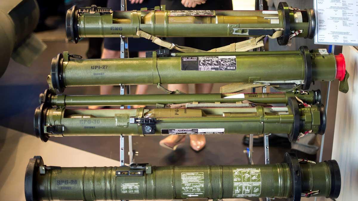 противотанковые гранатометы