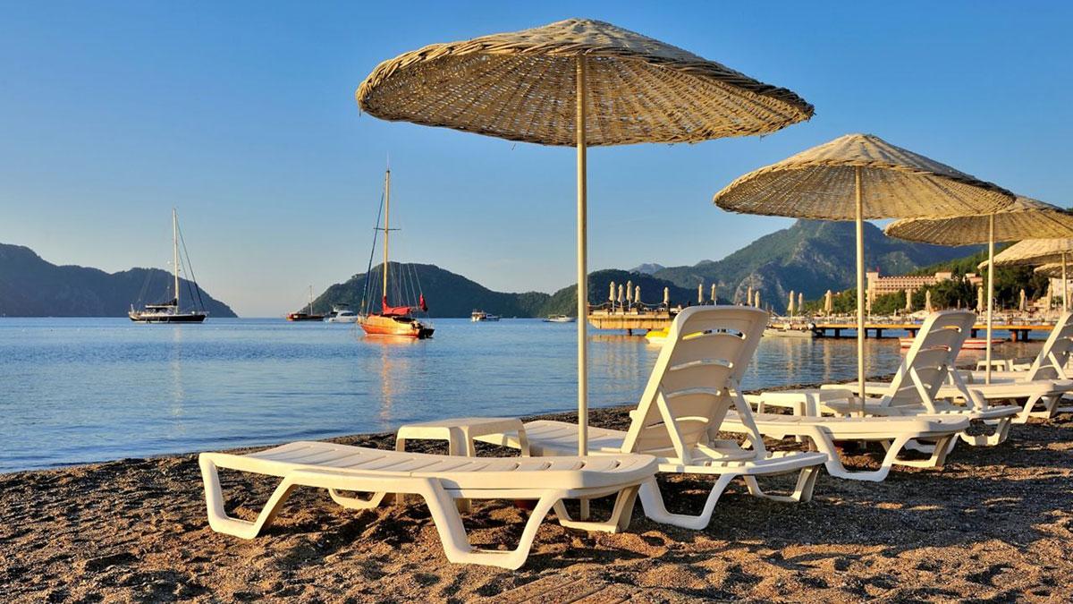 пустые пляжи в турции карантин локдаун