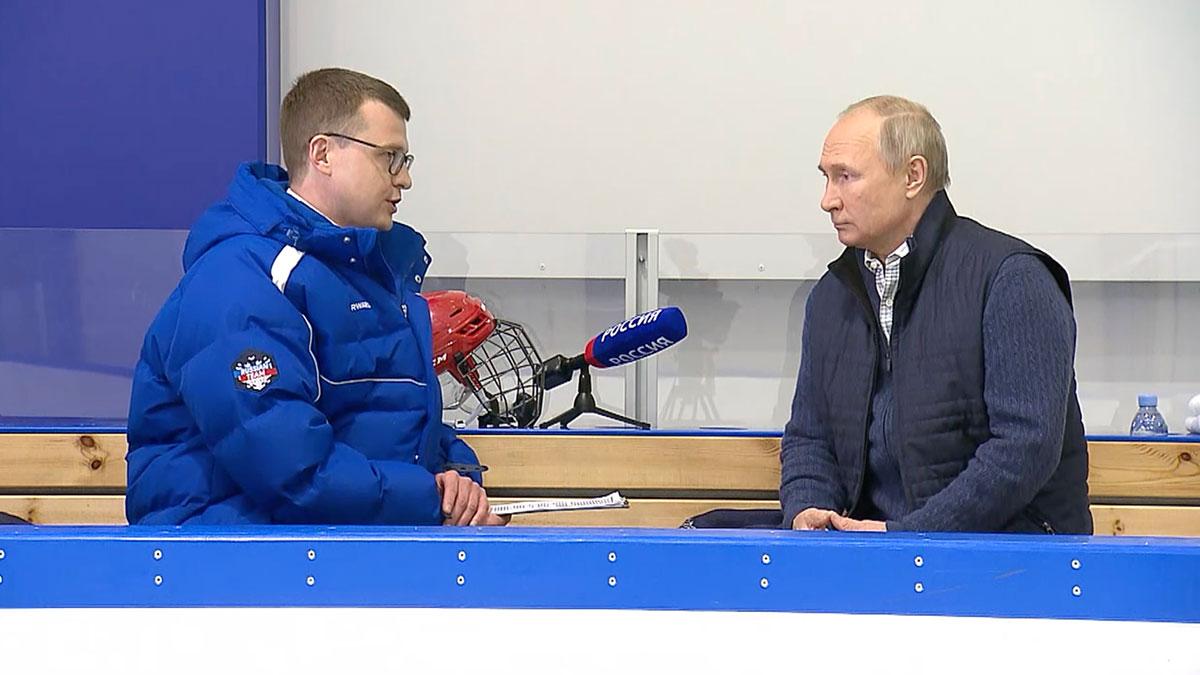 Владимир Путин ответил на вопросы журналиста телеканала «Россия 1»