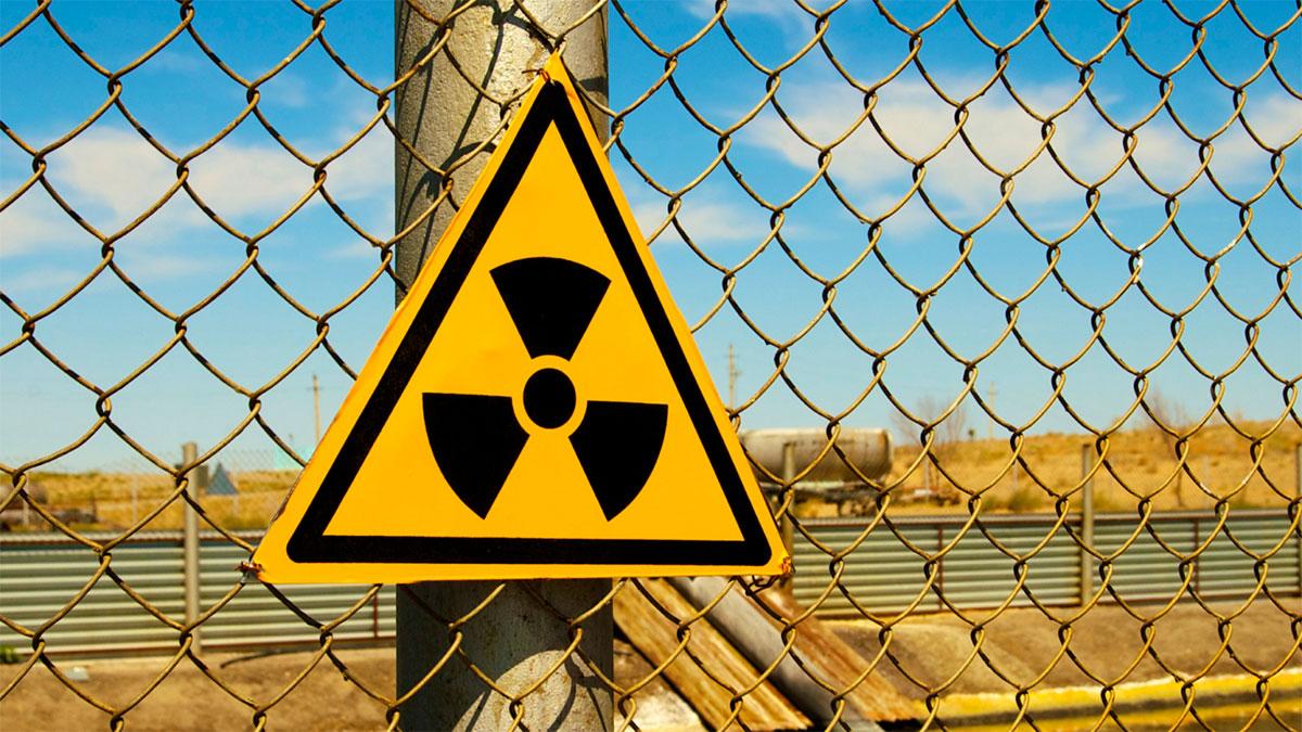 радиация радиоактивность знак забор утечка