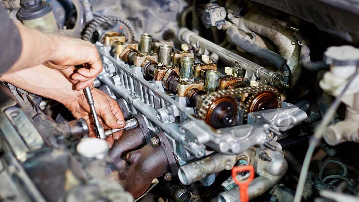 ремонт двигателя механик