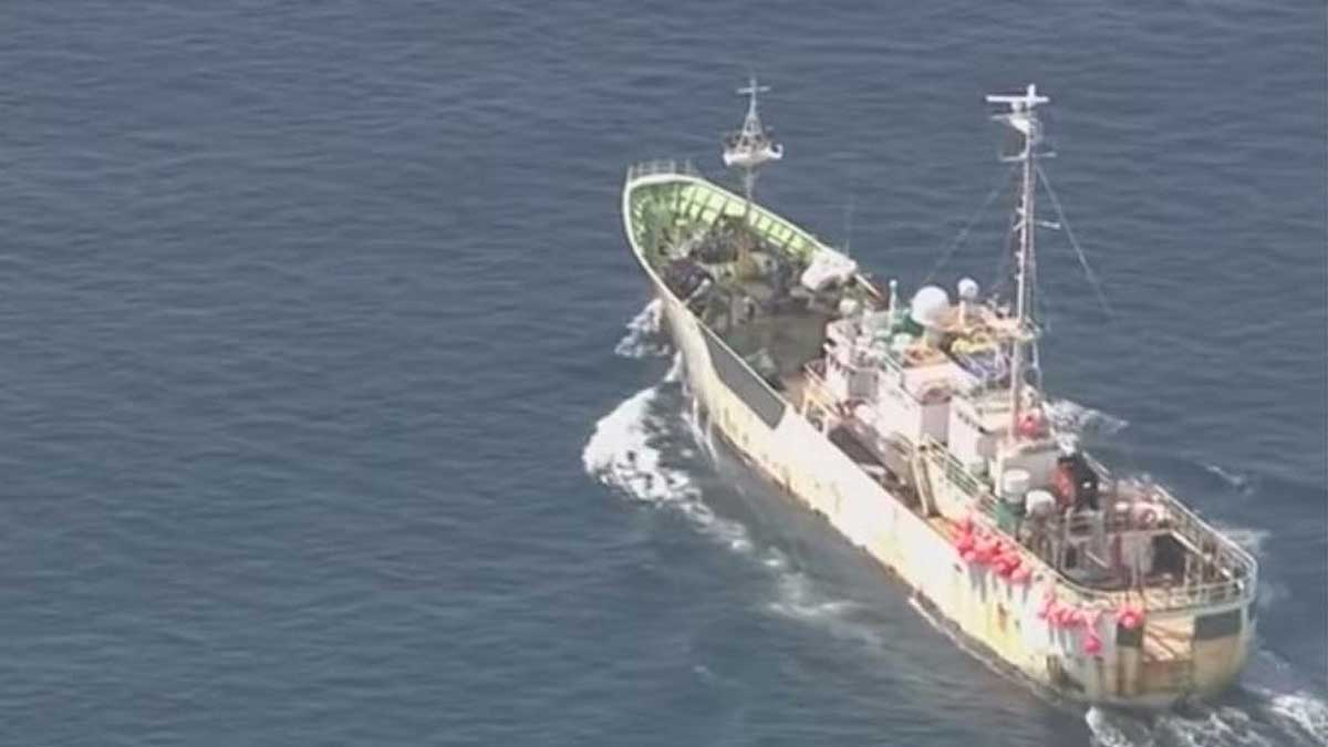 российское судно Амур