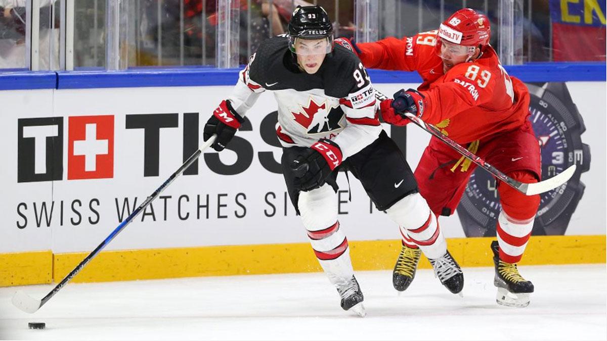 россия канада хоккей чемпионат мира 2021