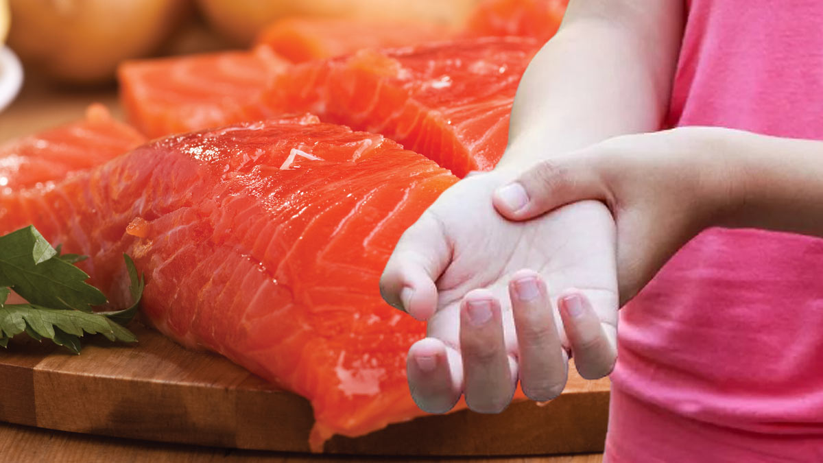 рука артрит жирная красная рыба