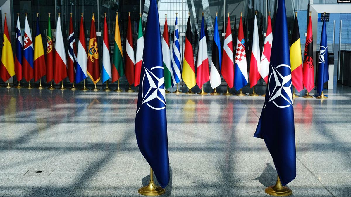 саммит нато флаги стран участников