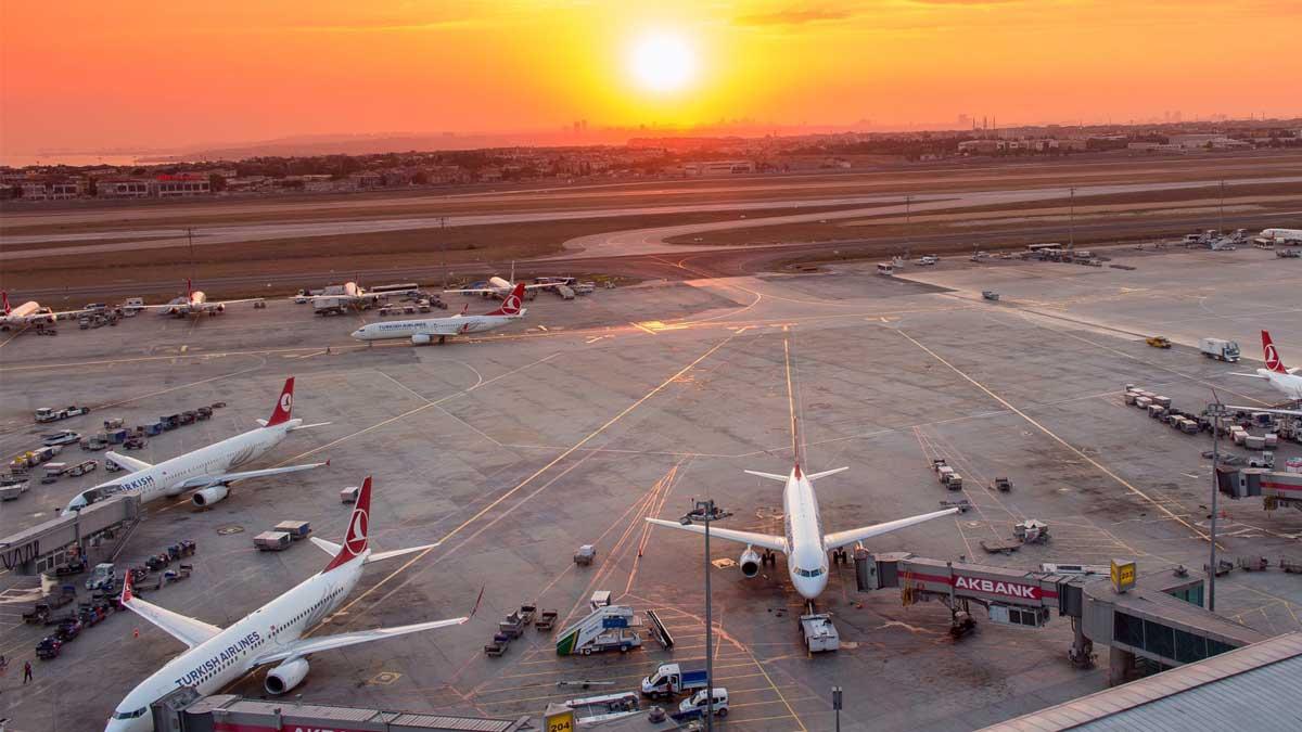 самолеты Турция аэропорт