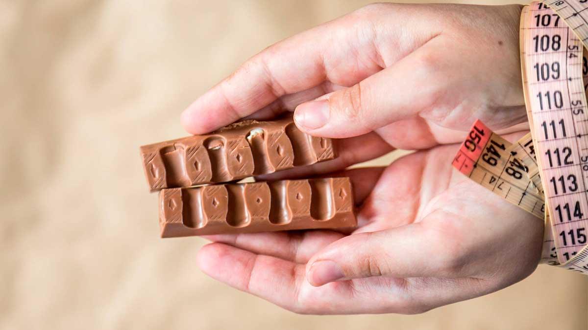 шоколад руки