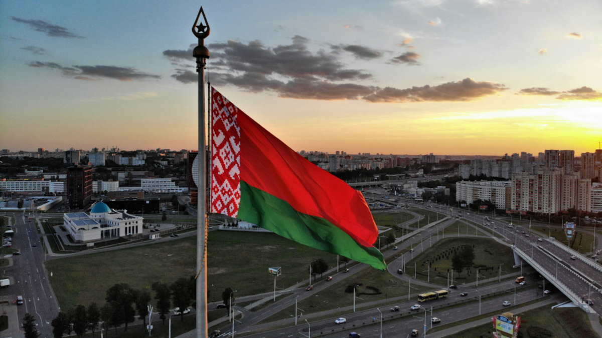 Минск Беларусь флаг