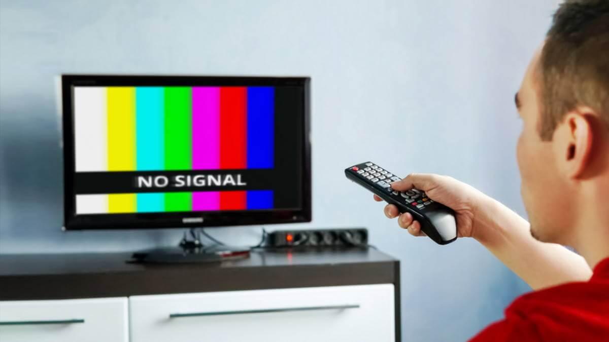 телевизор плохой сигнал