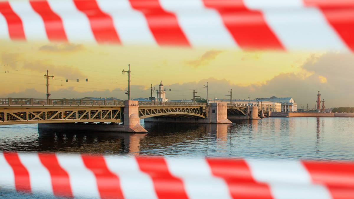 Санкт-Петербург коронавирусные ограничения