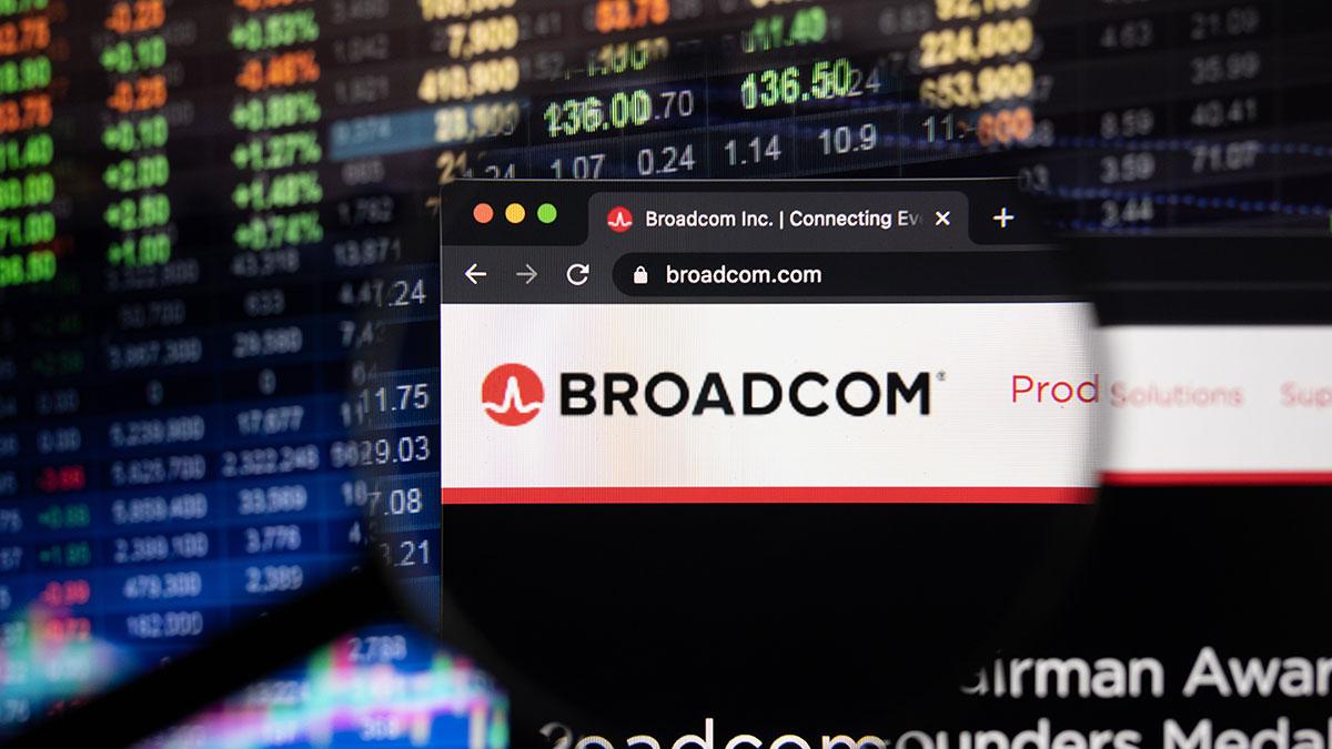 торги акции биржа компания broadcom