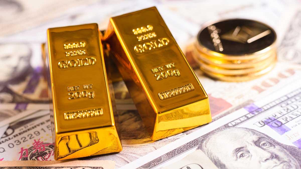 золото доллары