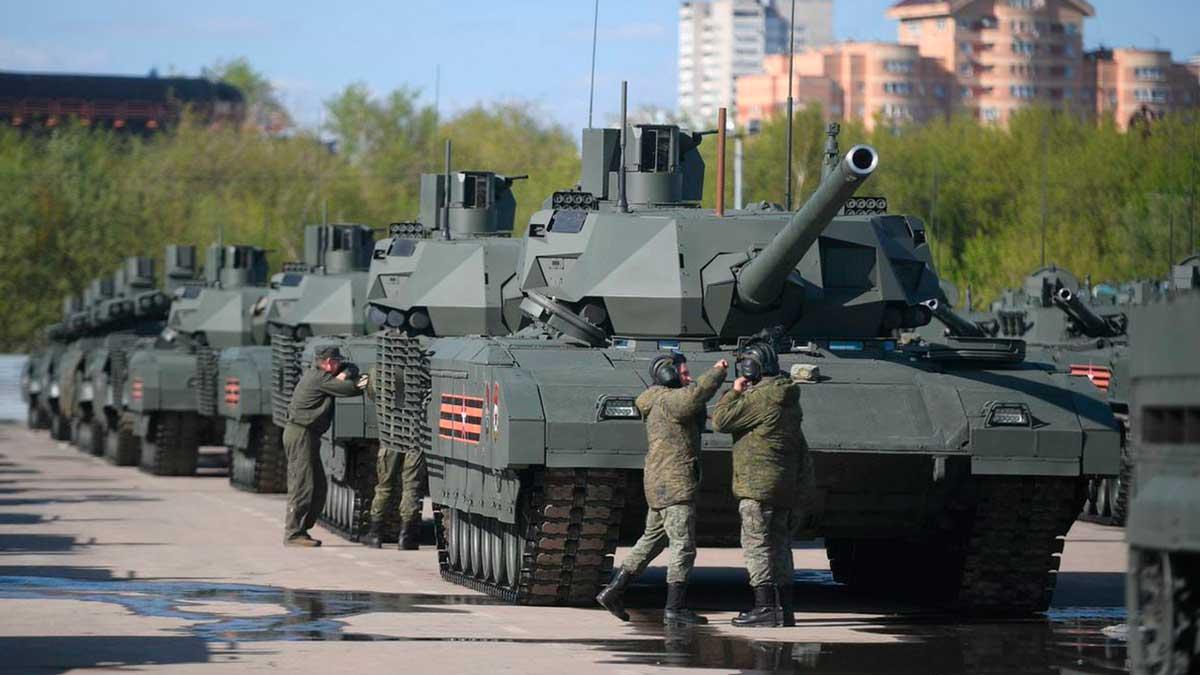 танки Россия