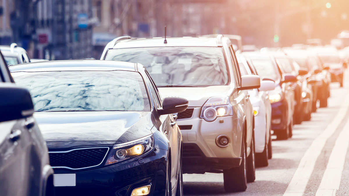транспорт автомобили пробка