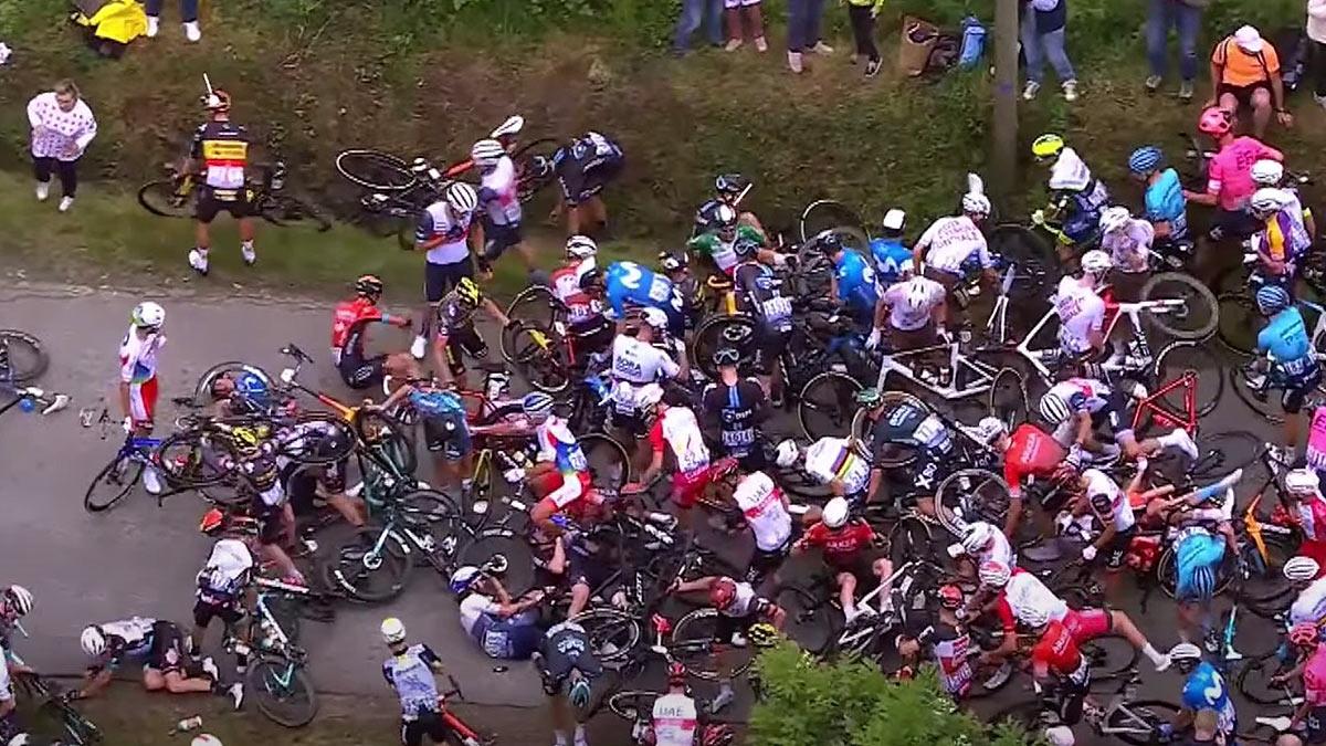 Происшествие на Тур де Франс