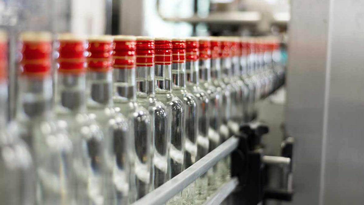 водка производство конвейер
