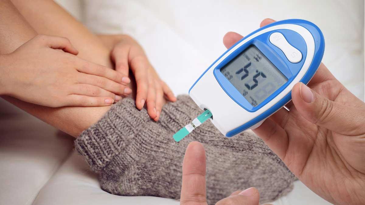 замерзли ноги тест диабет