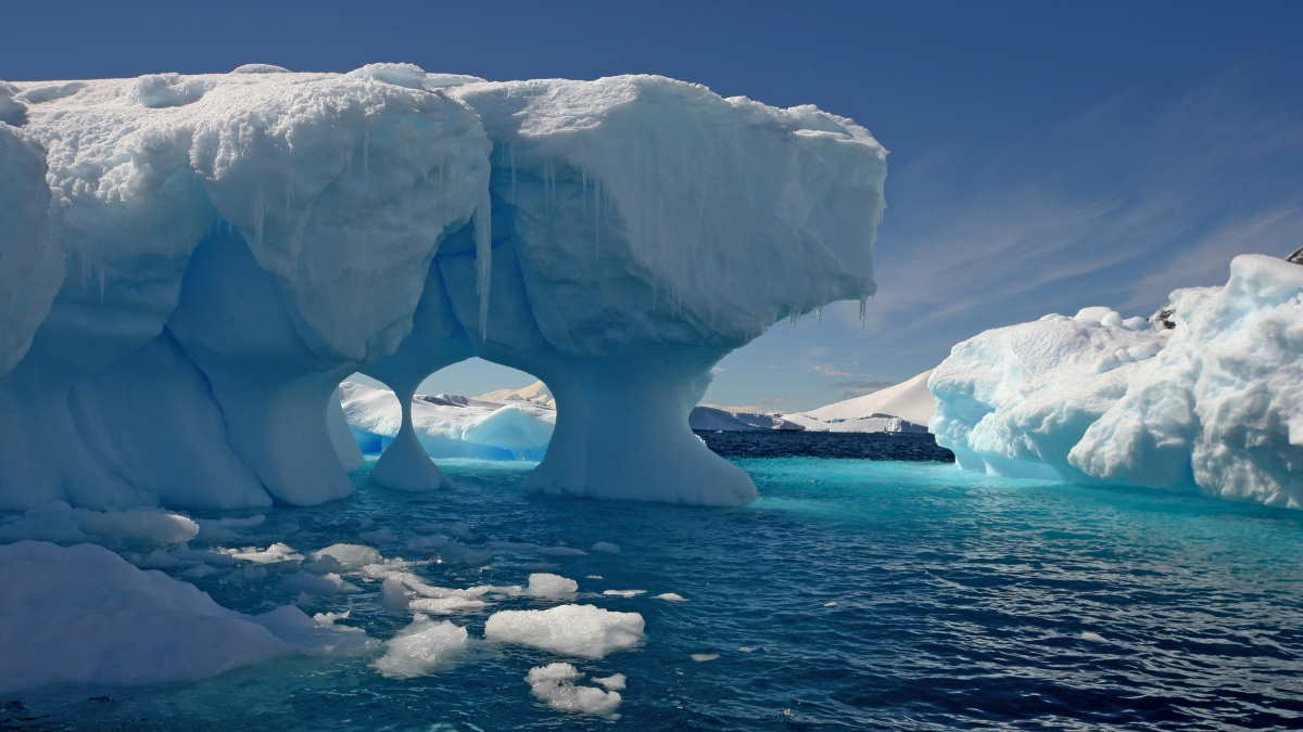 Антарктика льды