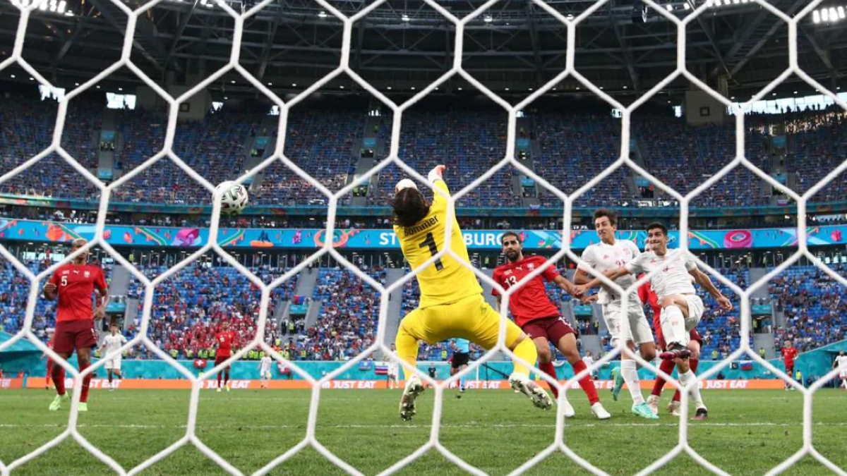 Швейцария - Испания футбол