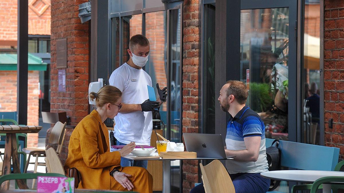 Работа ресторана в Москве в условиях коронавирусных ограничений