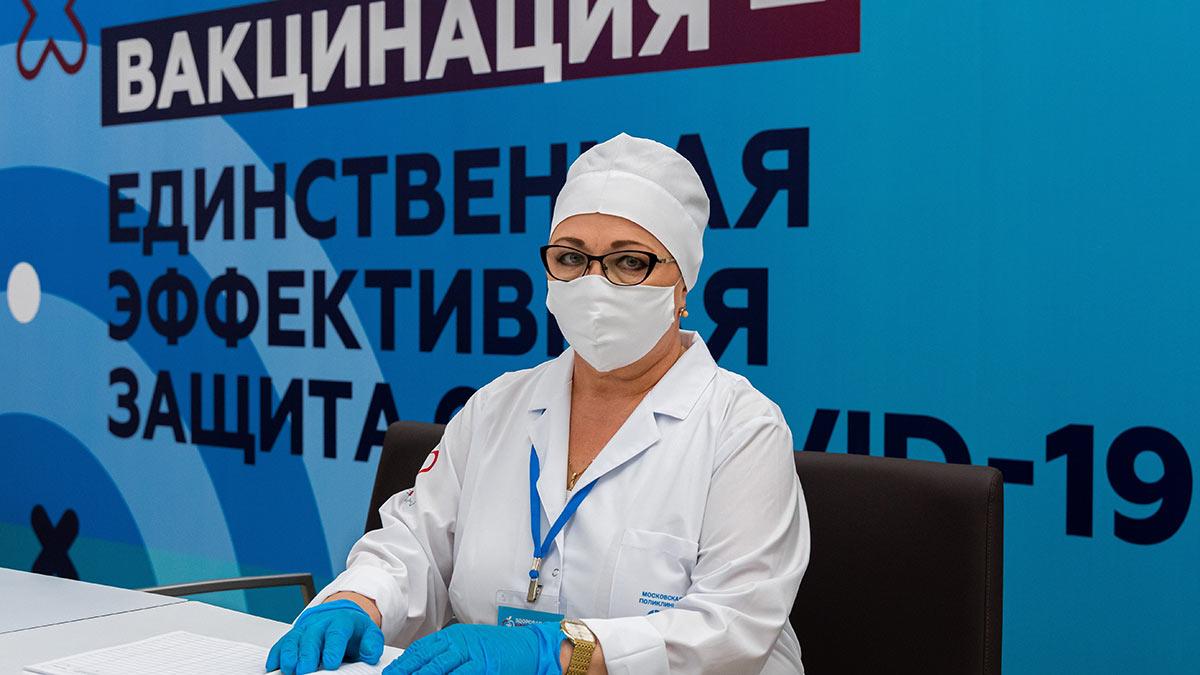 новый центр вакцинации от COVID-19 в олимпийском комплексе «Лужники»