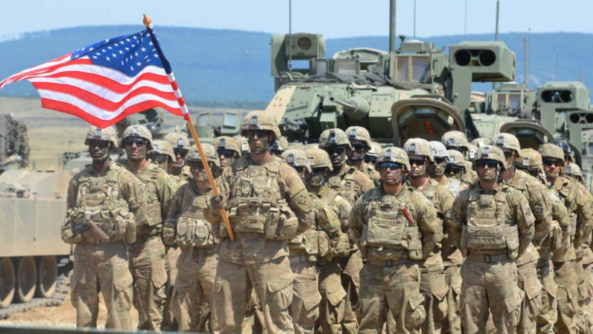 США солдаты армия