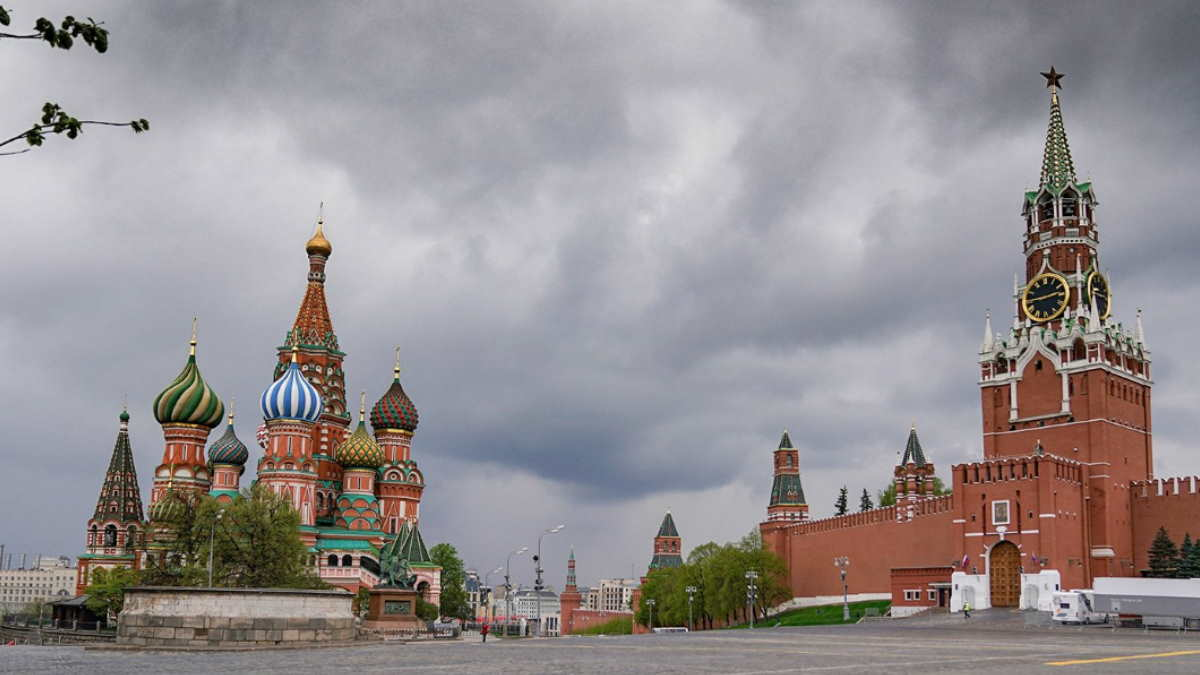 Москва погода гроза