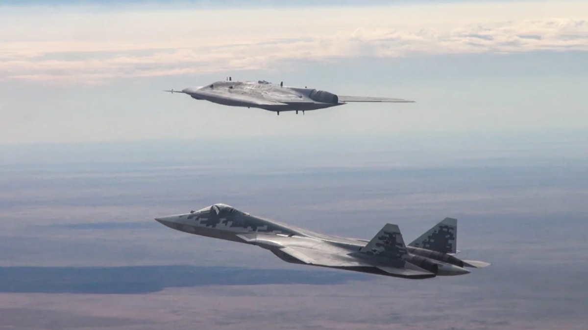 Су-57 и С-70 Охотник