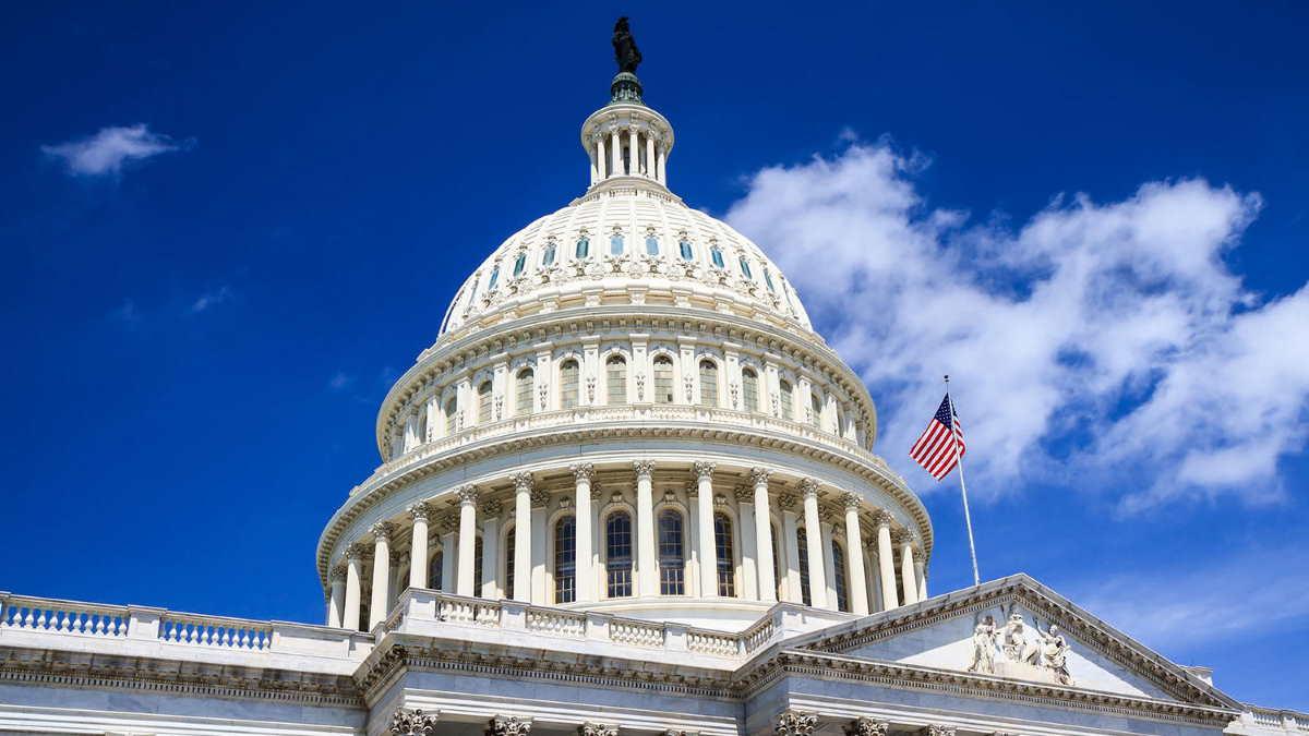 Капитолий сенат конгресс США здание