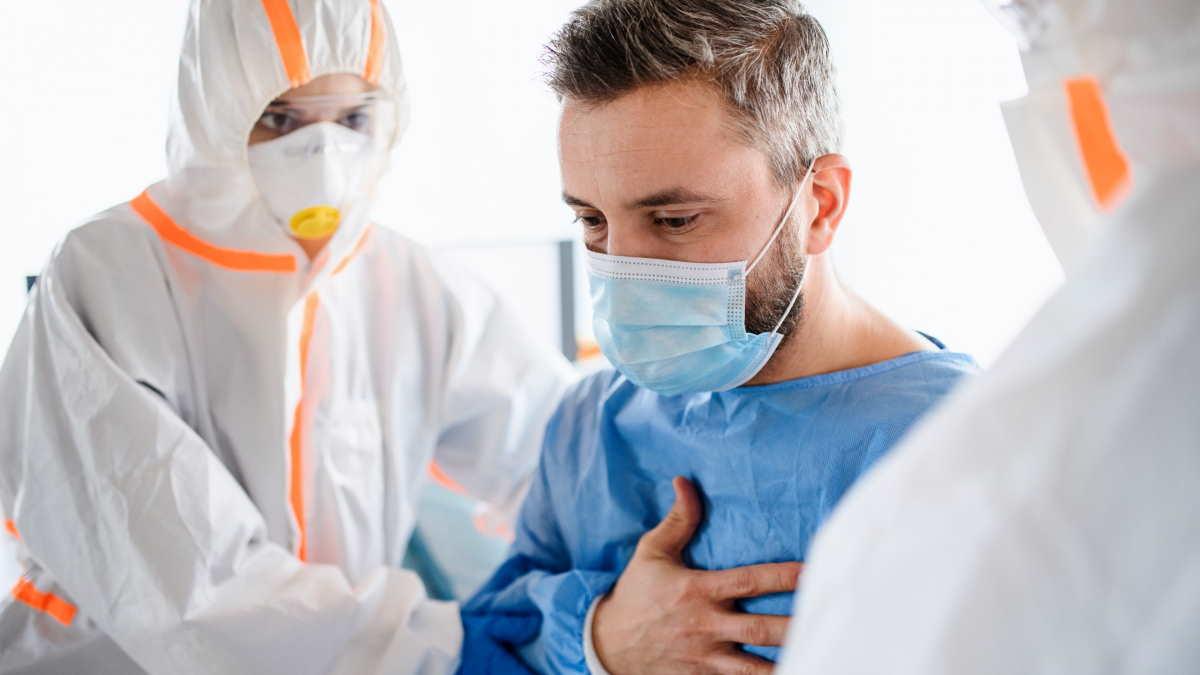 Коронавирус врачи пациент