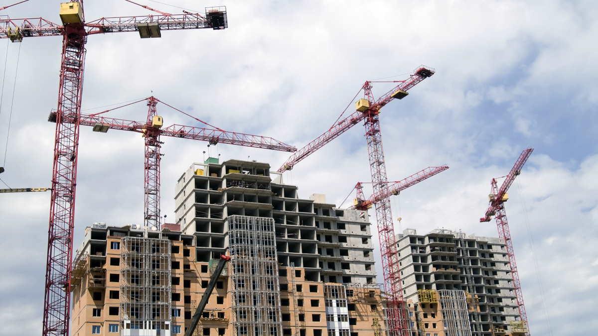 Строительство многоэтажный дом