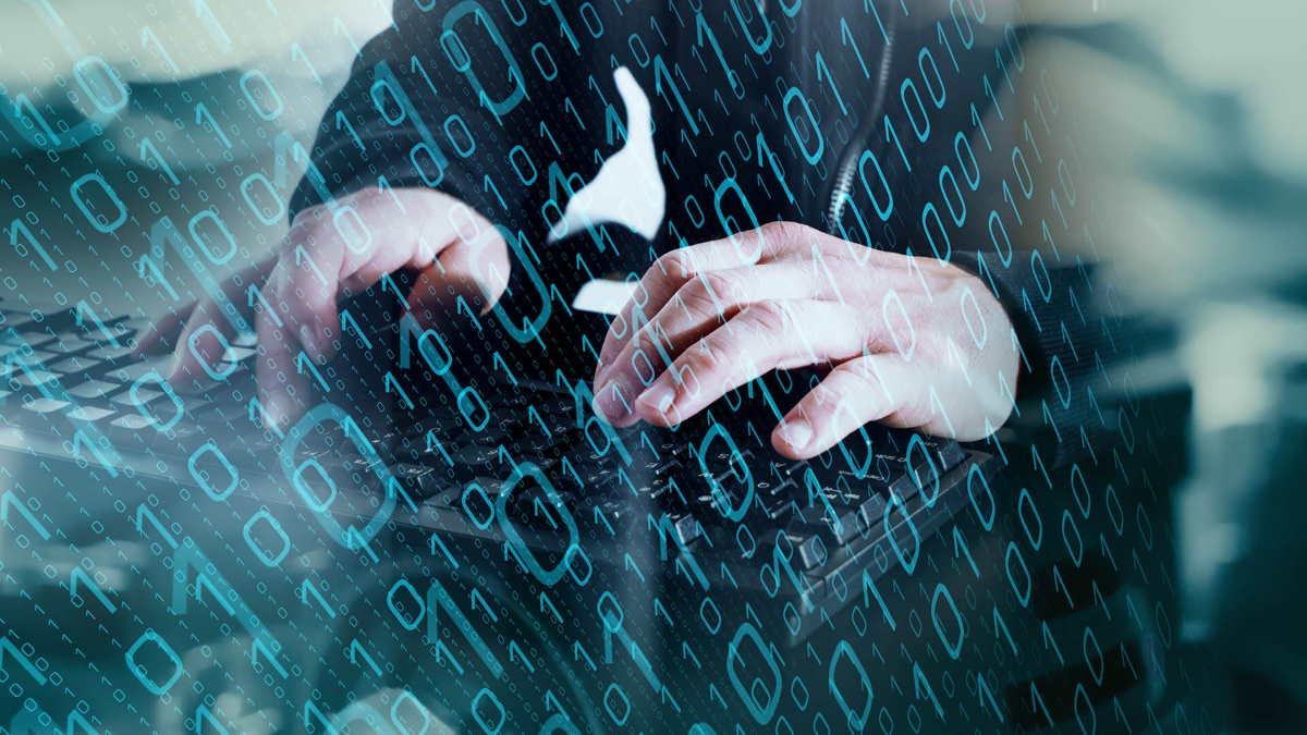 Хакер взлом кибератака